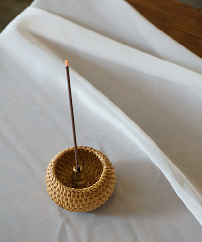 rattan incense set