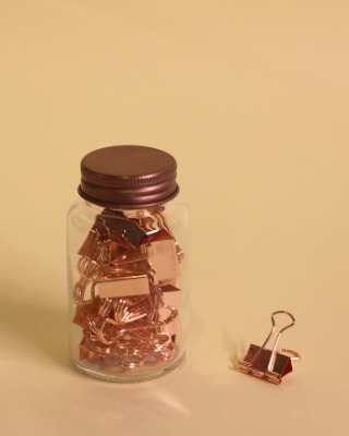 Small Glass Bottle Clip Set-Wide