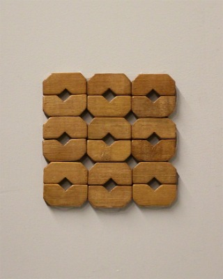Wood Trivet-Brown