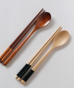 Standard wood spoon set(strap type)