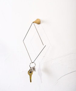 Brass diamond hook(정상가 19,500원)