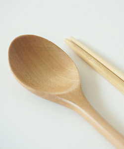 Standard wood spoon set