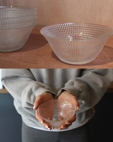 Glass bowl_dot
