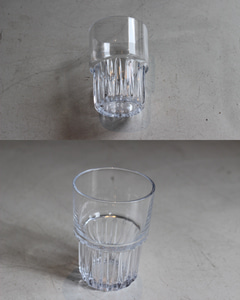 Glass cup_stripe